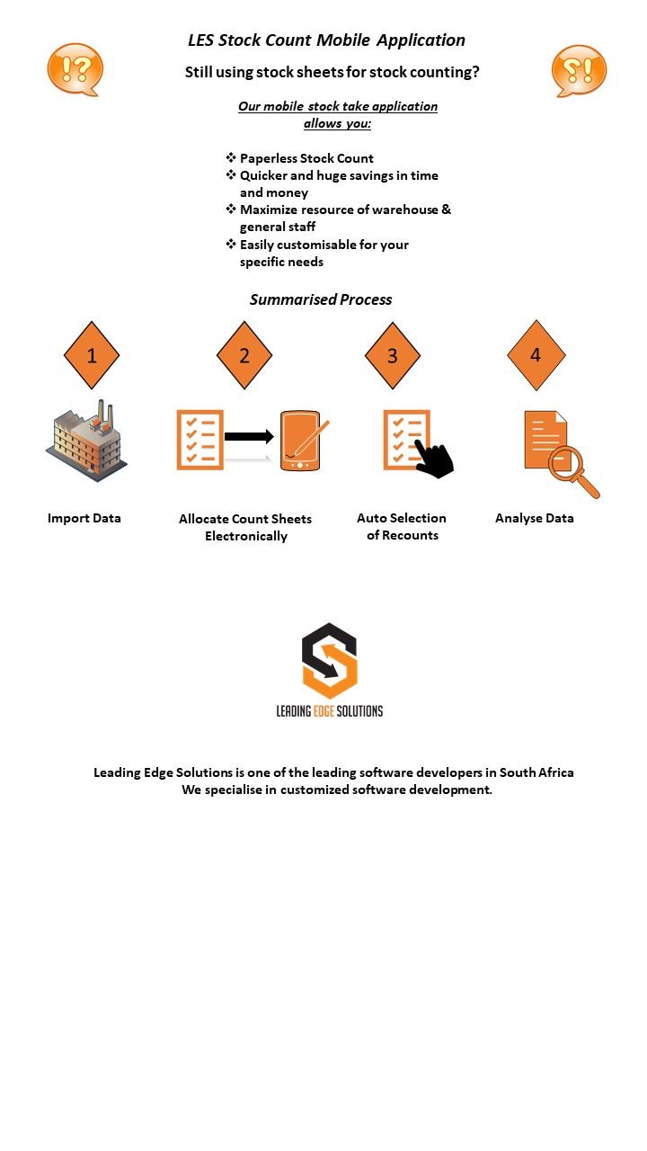 LES Stock-it Mobile Application